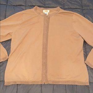 Talbots Woman jacket sweater size 1X